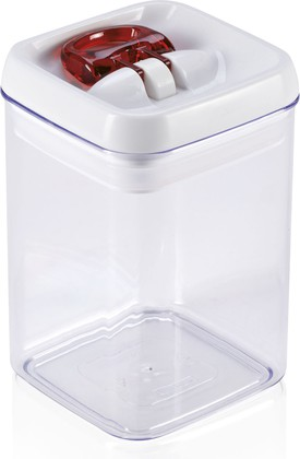 Контейнер для хранения продуктов Leifheit Fresh & Easy, квадратный, 0.8л 31208