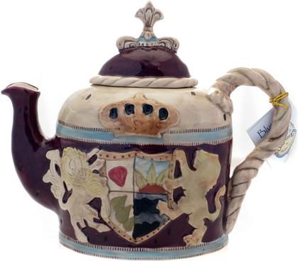 Чайник заварочный Родовой герб 25х10х21см Blue Sky LX-BL1730