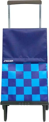 Сумка-тележка хозяйственная чёрная Rolser PLEGAMATIC PLE073azul