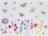Доска стеклянная Lesser & Pavey Бабочки в саду, 40x30см LP46731