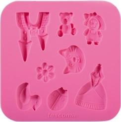 Силиконовые формочки, для девочек Tescoma DELICIA DECO 633010.00