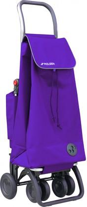 Термосумка-тележка хозяйственная фиолетовая Rolser LOGIC TOUR THERMO PAC047more