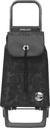 Сумка-тележка хозяйственная компактная тёмно-серая Rolser JOY-1800 BABY BAB008marengo
