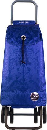 Сумка-тележка хозяйственная синяя Rolser LOGIC DOS+2 PAC035azul
