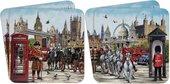 Подставки под стакан Lesser & Pavey Виды Лондона 4шт, 11x11см LP44805