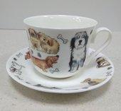 Чайная пара Собачьи Истории, 500мл Roy Kirkham XDTALES1100