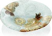 Блюдо IVV Pashmina Gold глубокое, 41см 8135.2