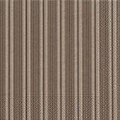 Салфетки для декупажа Paper+Design Шоколадная полоса, 33x33см, 20шт 21933