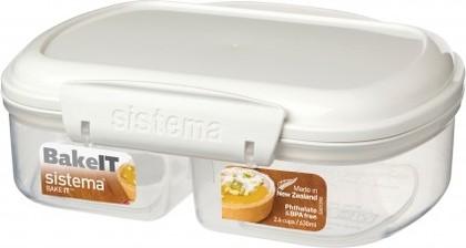 Контейнер двойной 630мл Sistema Bake It 1210