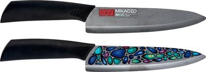 """Нож """"Шеф"""" универсальный 17,5см Mikadzo IMARI-BL IKB-01-8.6-CH-175"""
