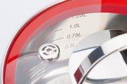 Ковш 1.6л стеклянная крышка 16х8см Storia vitro Regent Inox 93-STv-01