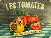 Подставки под тарелки на стол Top Art Studio Томаты Южной Франции 40x29см, 4шт, пробка GD2812-TA