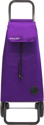 Сумка-тележка хозяйственная фиолетовая Rolser RG MOUNTAIN MOU016more