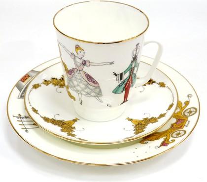 Набор чайный 3 пр. Золушка, ф. Майская ИФЗ 81.25406.00.1