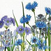 Салфетки для декупажа Paper+Design Синий Луг, 33x33см, 20шт 200030