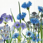 Салфетки Синий Луг, 33x33см, 20шт Paper+Design 200030