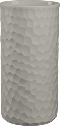 Ваза Asa Selection Carve d12см, h24см, серо-бежевый 1368/623