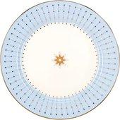 Тарелка десертная ИФЗ Азур голубая, 20см, форма Стандартная-2 80.93399.00.1