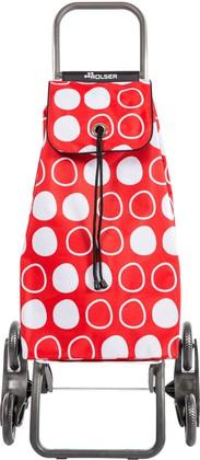Сумка-тележка хозяйственная красная Rolser I-Max Symbol IMX088Rojo