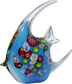 Фигурка стеклянная Top Art Studio Цветная рыбка 15.5x14.5см ZB1525-TA