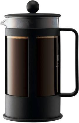 Кофейник с прессом чёрный 1.0л Bodum Kenya 1788-01LID