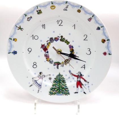 Часы настенные Балет Щелкунчик-1, фарфор, 270мм ф. Европейская-2 ИФЗ 81.24783.00.1