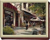 Поднос с подушкой Кафе Шоколатье 44х34см Creative Tops 5164304