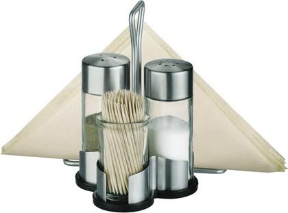 Набор: соль, перец, зубочистки и салфетки Tescoma CLUB 650332