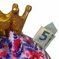 Копилка Свинья Pomme-Pidou Big Pig Betty XL, фиолетовая 148-00337A