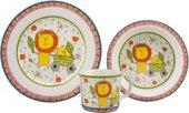 Набор детской посуды Top Art Studio Каникулы Бонифация, 3 предмета SC1062-TA