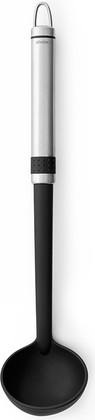 Ложка разливная маленькая, матовая сталь / чёрный Brabantia Profile 363627