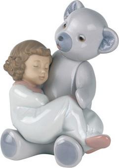 Статуэтка фарфоровая Мой плюшевый медведь (Big Bear Hug) 14см NAO 02001477