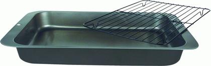 Противень глубокий Regent, 36x27x4.5см, с решеткой-гриль 93-CS-EA-2-05