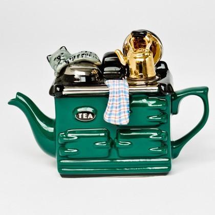 """Чайник коллекционный """"Завтрак"""" (Aga Teapot) The Teapottery 4404"""