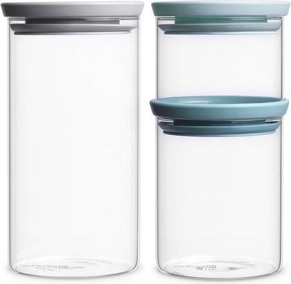 Набор модульных стеклянных банок Brabantia, 3шт. 298325