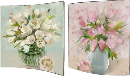 Картина Тюльпаны 38x38см, пара Top Art Studio WDP1112-TA