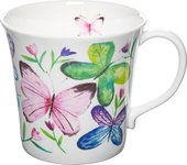 Кружка Rose of England Бабочки в тюльпанах, 415мл MER.BS.2
