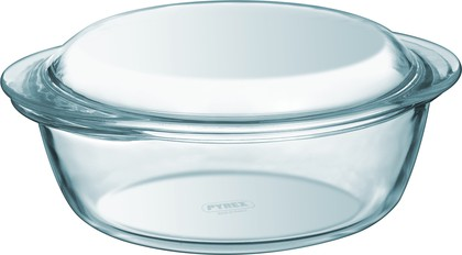 Кастрюля круглая 2.1л, стекло Pyrex Essentials 204A000/W243