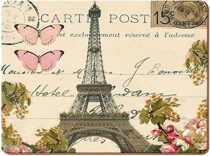 Подставки на пробке Романтическое послание 29x21.5см, 4шт. Creative Tops Everyday Home 5178952