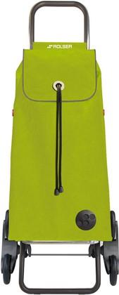 Сумка-тележка хозяйственная желто-зеленая Rolser I-Max MF IMX092Lima
