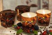 Свеча Время Кофе, стакан Bartek Candles 5901685035200