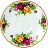 Блюдце Royal Albert Розы Старой Англии, Мокка IOLCOR00039