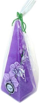 "Свеча ""Орхидея"" пирамида 5х15см Bartek Candles 185031"