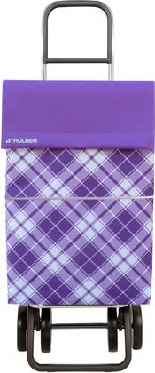 Сумка-тележка хозяйственная фиолетовая DOS+2 Rolser DML022malva