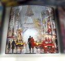 Модульная картина Top Art Studio Столицы мира 38x38см, пара, дерево, лак WDP1759-TA