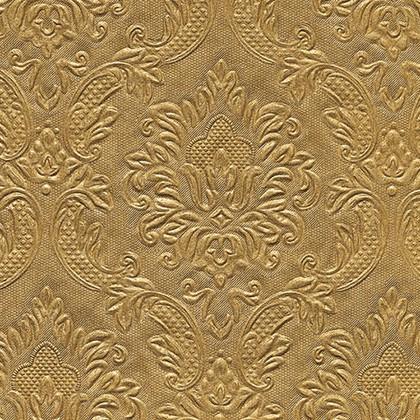 Салфетки для декупажа Paper+Design Орнамент золото, 33x33см, 16шт 24046