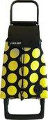 Сумка-тележка хозяйственная черно-желтая ROLSER Joy-1800 BAB017negro/lima
