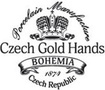 Porcelaine Czech Gold Hands