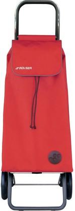 Сумка-тележка хозяйственная красная Rolser LOGIC RG PAC001rojo