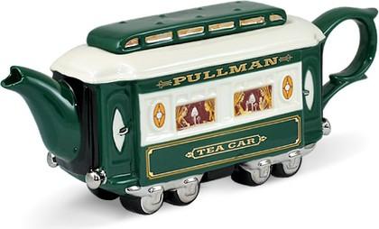 """Чайник коллекционный """"Восточный экспресс"""" (Railway Carriages Teapot) The Teapottery 4444"""